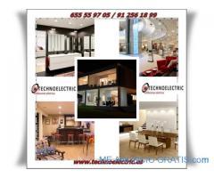 Electricista Madrid ( Instalaciones, averías, ahorro enegético, Leds)
